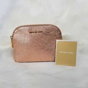 Michael Kors Medium Travel Cosmetic Bag-Soft Pink